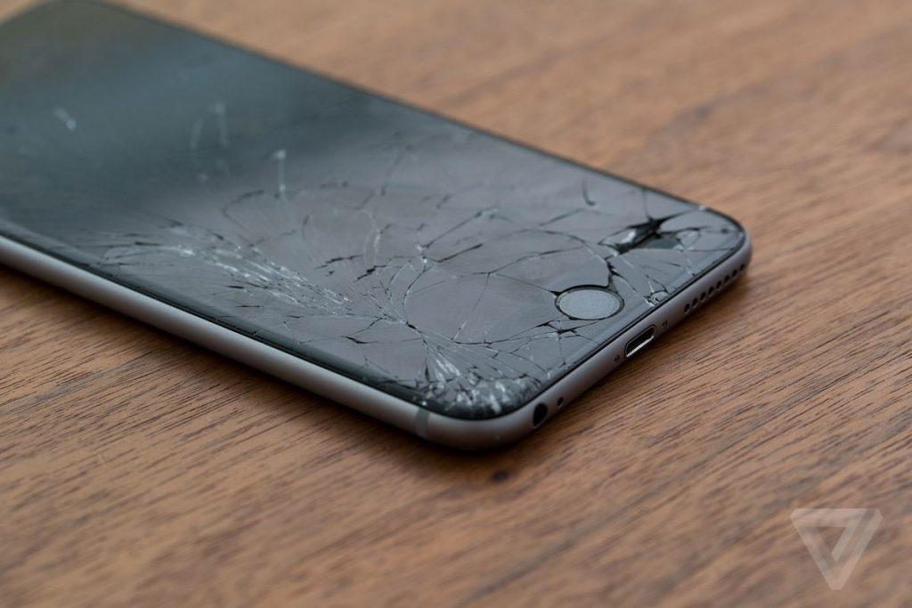 Kırık iPhone